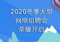 2020冬季网络招聘会