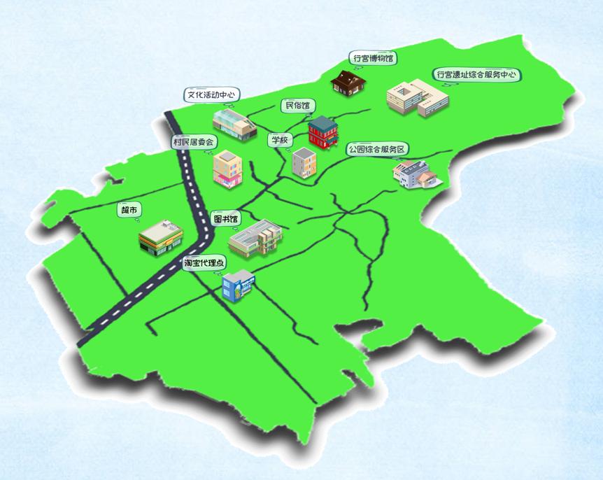 隆福寺交通图